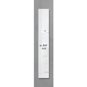SIGEL Glas Magnetboard GL101 artverum weiß 12x78cm
