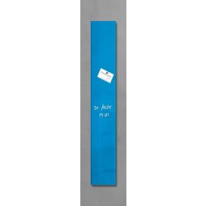 SIGEL Glas Magnetboard GL107 artverum türkisblau 12x78cm