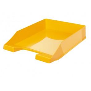 Briefablage KLASSIK, gelb DIN A4/C4, stapelbar, stabil