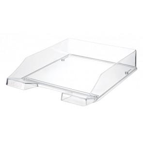 Briefablage KLASSIK, glasklar DIN A4/C4, stapelbar, stabil
