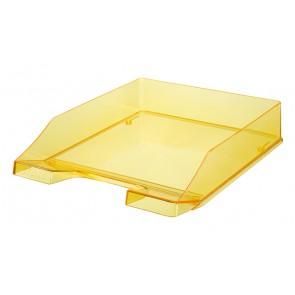Briefablage KLASSIK, transp.-gelb DIN A4/C4, stapelbar, stabil