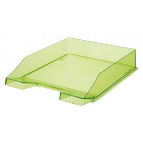 Briefablage KLASSIK, transp.-grün DIN A4/C4, stapelbar, stabil
