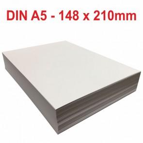 Kopierpapier DIN A5 80g weiß 5000 Blatt für Laser Inkjet Kopierer