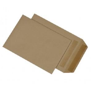 MAILMEDIA Versandtasche B5 ohne Fenster selbstklebend braun 500 Stück 90g