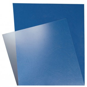 LEITZ Deckblatt transparent 33681 180mic 100 Stück