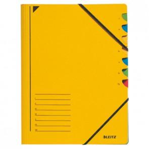 Ordnungsmappe 7 Fächer gelb