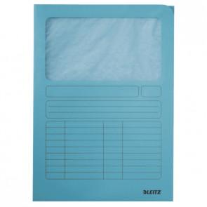 LEITZ Sichtmappe 3950 A4 Karton 160g hellblau