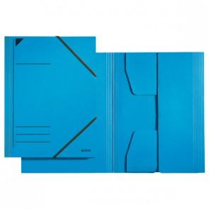 Eckspannermappe A4 blau