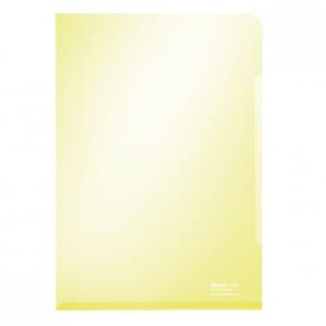 LEITZ Sichthülle 4153 A4 PVC 0,15mm glasklar gelb