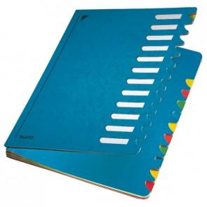 LEITZ Pultordner 5912 -Deskorganizer Color- 12 Fächer blau