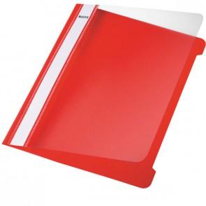 Hefter Plastik A5 PVC rot