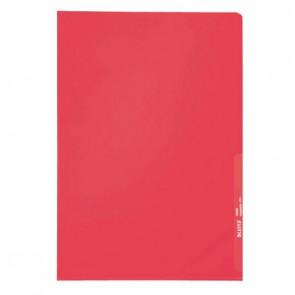 LEITZ Sichthüllen 4000 A4 PP rot 0,13mm