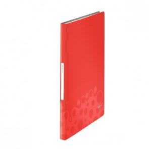 LEITZ Sichtbuch Bebop 4565 A4 PP 40 Hüllen rot