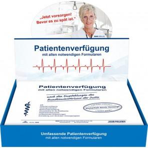 RNK Patientenverfügung 2895 C5 220x162mm mit Betreuungsverfügung + Vorsorgevollmacht