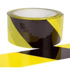 """Signalpackband 50mm x 66m Motiv """"gelb-schwarz"""""""