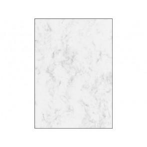 SIGEL Designpapier DP396 A4 200g 50 Blatt Marmor grau