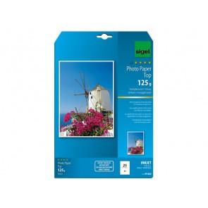 Inkjet Top Fotopapier A4 125g 25Bl hochglänzend hochweiß