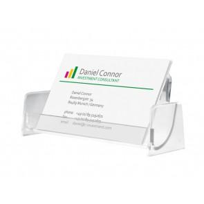 SIGEL Visitenkartenspender VA120 Hartplastik für 50 Karten