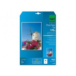 Inkjet Top Fotopapier A4 170g 20Bl hochglänzend hochweiß