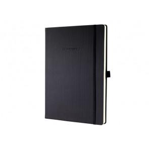 Notizbuch Conceptum ca. A4 194 S. Hardcover liniert 80g black