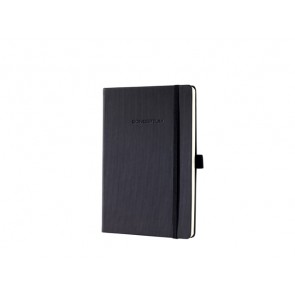 Notizbuch Conceptum ca. A5 194 S. Hardcover liniert 80g black