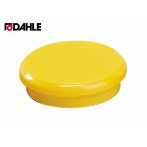 DAHLE Haftmagnet 24mm gelb Haftkraft 3 N