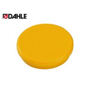 DAHLE Haftmagnet 32mm gelb Haftkraft 8 N