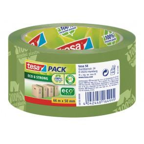 TESA Packband Eco & Strong grün 66m 50 mm (bedruckt)