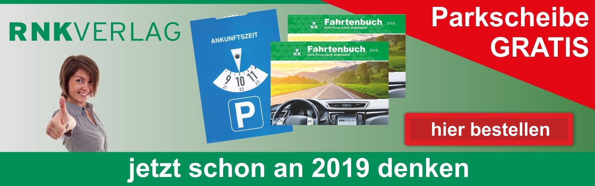 rnk Fahrtenbuch + Parkscheibe