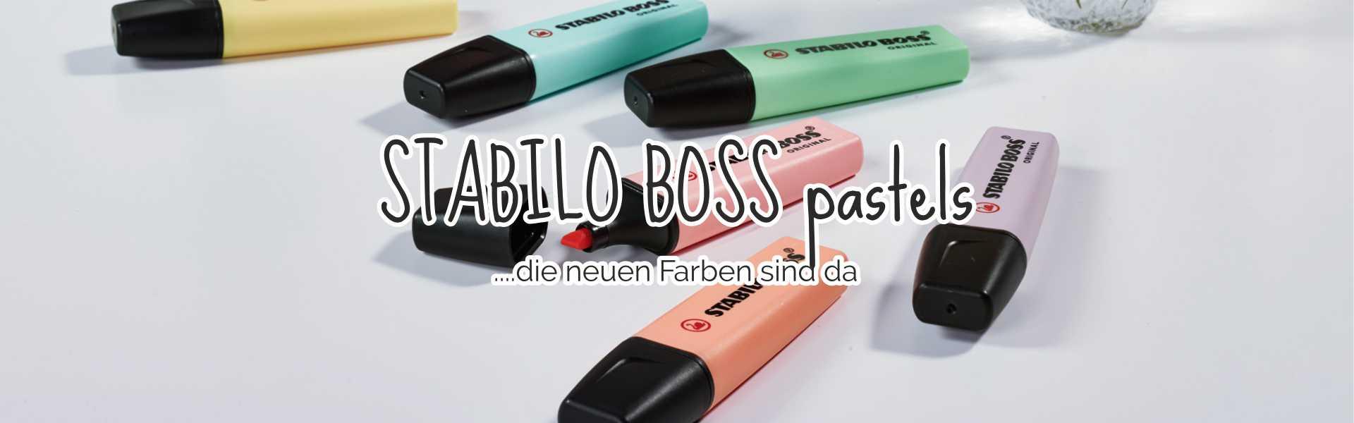 Stabilo Boss pastels